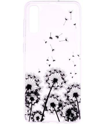 Samsung Galaxy A50 Hoesje TPU met Print Dandelion Hoesjes