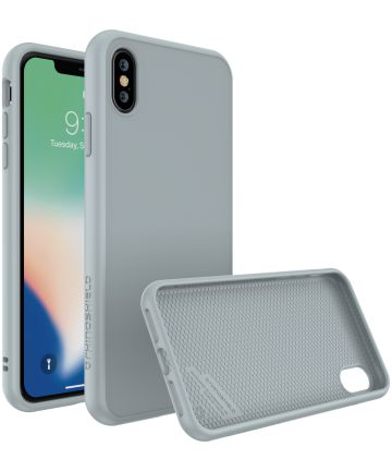 RhinoShield SolidSuit iPhone XS Max Hoesje Classic Gray Hoesjes