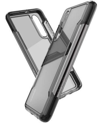 Raptic Clear Huawei p30 hoesje transparant zwart Hoesjes