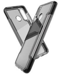 Raptic Clear Huawei p30 lite hoesje transparant zwart