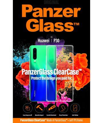 Panzerglass Huawei P30 ClearCase Transparant Hoesje Hoesjes