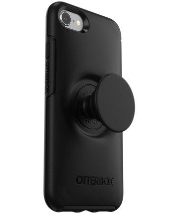 Otter + Pop Symmetry Series iPhone 7 Plus / 8 Plus Hoesje Zwart