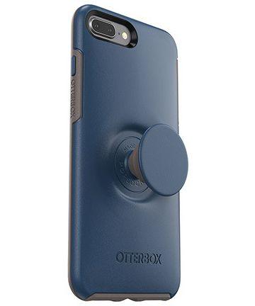 Otter + Pop Symmetry Series iPhone 7 Plus / 8 Plus Hoesje Blauw