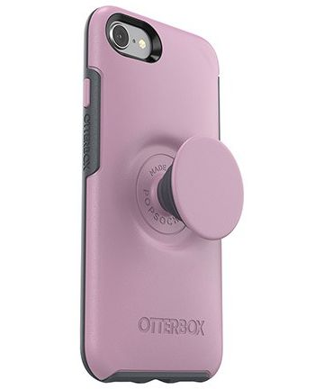 Otter + Pop Symmetry Series iPhone 7/8 Hoesje Roze