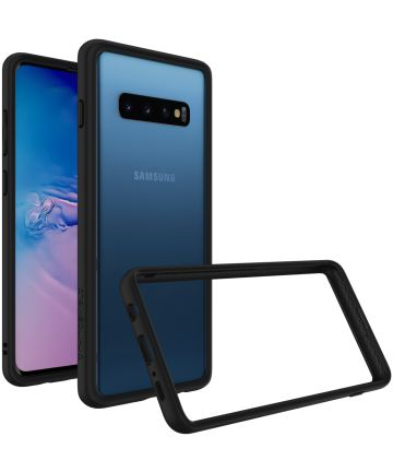 RhinoShield CrashGuard Samsung Galaxy S10 Plus Bumper Hoesje Zwart