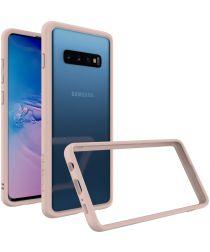 RhinoShield CrashGuard Samsung Galaxy S10 Plus Bumper Hoesje Roze
