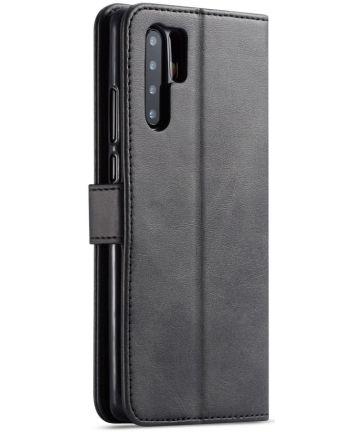 Huawei P30 Pro Book Case Portemonnee Hoesje met Magneetsluiting Zwart Hoesjes