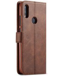 Xiaomi Redmi Note 7 Portemonnee Flip Hoesje met Magneet Sluiting Bruin