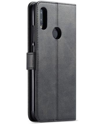 Xiaomi Redmi Note 7 Portemonnee Hoesje met Magneet Sluiting Zwart Hoesjes