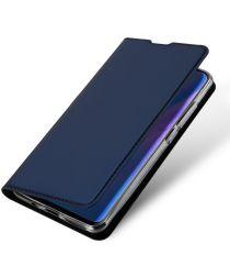 Dux Ducis Huawei P30 Lite Bookcase Hoesje Blauw