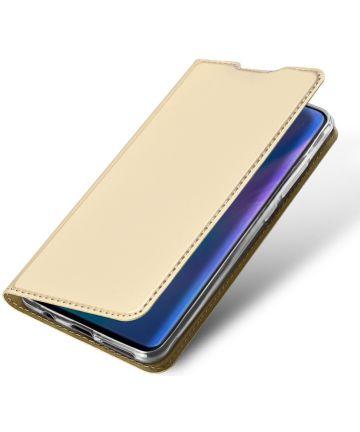 Dux Ducis Huawei P30 Lite Bookcase Hoesje Goud Hoesjes