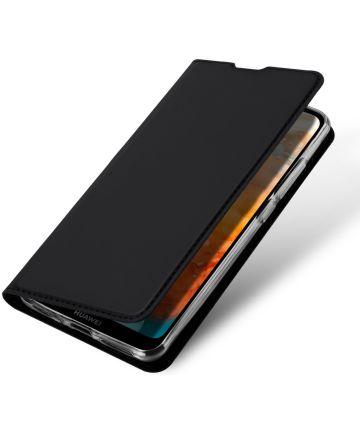 Dux Ducis Huawei Y6 2019 Bookcase Hoesje Zwart