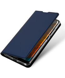 Dux Ducis Skin Pro Series Huawei Y6s / Y6 (2019) Hoesje Wallet Blauw