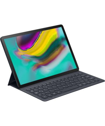 Originele Samsung Book Cover Galaxy Tab S5e Hoes met Toetsenbord Zwart Hoesjes