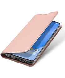 Dux Ducis Samsung Galaxy A70 Bookcase Hoesje Rose Gold