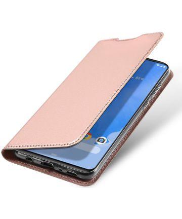 Dux Ducis Samsung Galaxy A70 Bookcase Hoesje Rose Gold Hoesjes