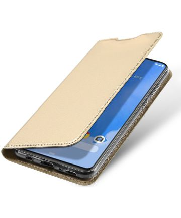 Dux Ducis Samsung Galaxy A70 Bookcase Hoesje Goud Hoesjes