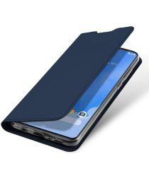 Dux Ducis Samsung Galaxy A70 Bookcase Hoesje Donker Blauw