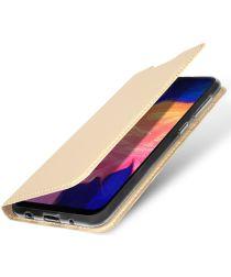 Dux Ducis Premium Book Case Samsung Galaxy A10 Hoesje Goud