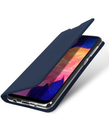 Dux Ducis Premium Book Case Samsung Galaxy A10 Hoesje Blauw Hoesjes