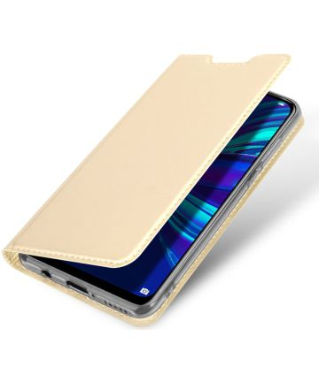 Dux Ducis Book Case Huawei P Smart Plus (2019) Hoesje Goud Hoesjes