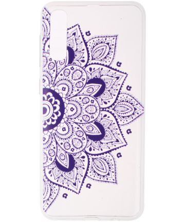 Samsung Galaxy A50 Hoesje Print TPU Bloem Hoesjes
