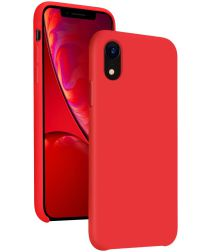 Apple iPhone XR Siliconen Hoesje Rood