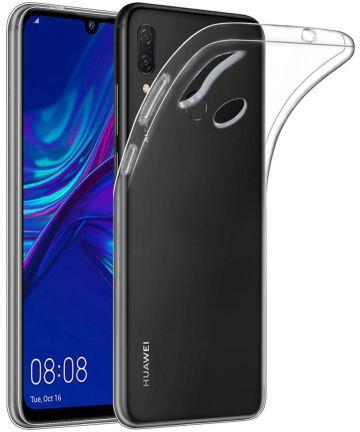 Huawei P Smart Plus (2019) Transparant TPU Hoesje Hoesjes