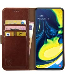 Rosso Element Samsung Galaxy A80 Hoesje Book Cover Bruin