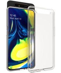Samsung Galaxy A80 Hoesje Dun TPU Transparant