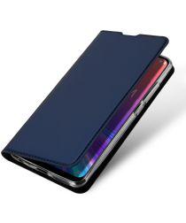 Dux Ducis Premium Book Case Asus Zenfone Max Pro M2 Hoesje Blauw