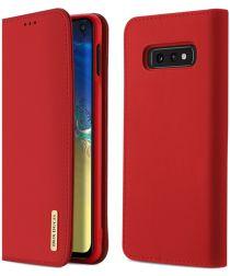 Samsung Galaxy S10E Leren Hoesjes