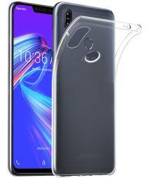 Asus Zenfone Max Pro M2 TPU Hoesje Transparant