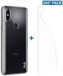 IMAK Crystal II Xiaomi Mi Mix 3 Hoesje met Screenprotector