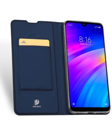 Dux Ducis Skin Pro Series Flip Hoesje Xiaomi Redmi 7 Blauw Hoesjes