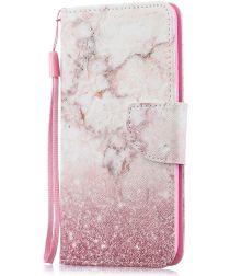 Huawei P30 Lite Portemonnee Print Hoesje Colorized Pattern