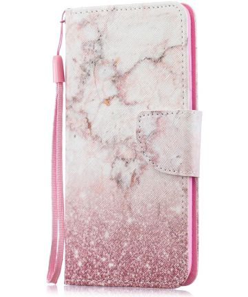 Huawei P30 Lite Portemonnee Print Hoesje Colorized Pattern Hoesjes