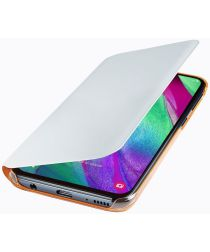 Samsung Galaxy A40 Wallet Cover Wit