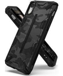 Ringke Dual X Apple iPhone XR Hoesje Camo Zwart