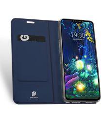 Dux Ducis LG V50 ThinQ Bookcase Hoesje Blauw
