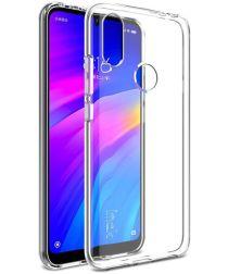 IMAK UX-5 Series Xiaomi Redmi 7 Hoesje Flexibel en Dun TPU Transparant