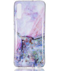 Samsung Galaxy A70 TPU Hoesje met Marmer Print