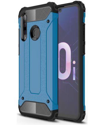 Huawei P Smart Plus 2019 Hybride Hoesje Blauw Hoesjes