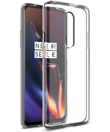 IMAK UX-5 Series OnePlus 7 Pro Hoesje Flexibel en Dun TPU Transparant Hoesjes