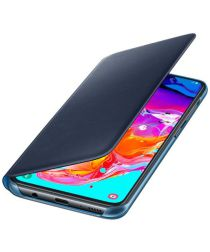 Samsung Galaxy A70 Wallet Cover Zwart