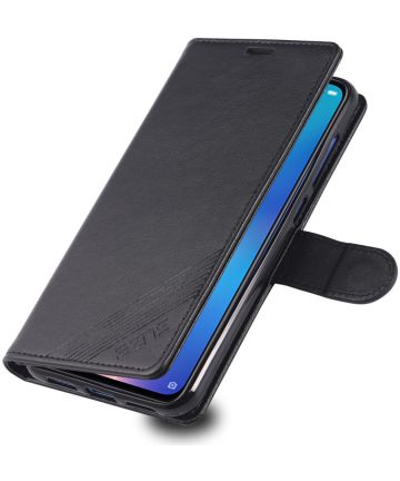 AZNS Xiaomi Mi 9 Portemonnee Hoesje Zwart Hoesjes