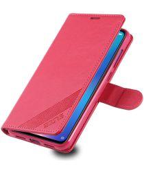 AZNS Xiaomi Mi 9 Portemonnee Hoesje Rood