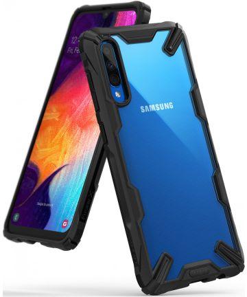 Ringke Fusion X Samsung Galaxy A50 Hoesje Zwart Hoesjes
