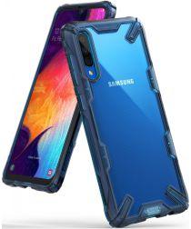 Ringke Fusion X Samsung Galaxy A50 Hoesje Blauw