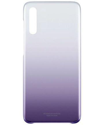Origineel Samsung Galaxy A70 Hoesje Gradation Cover Paars Hoesjes